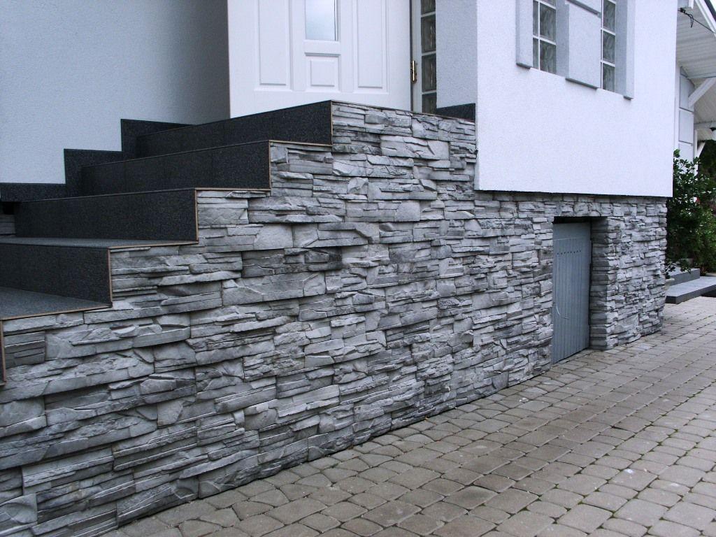 Kamień Zewnętrzny-Elewacyjny na schody zewnętrzne - firmy LA DECOR