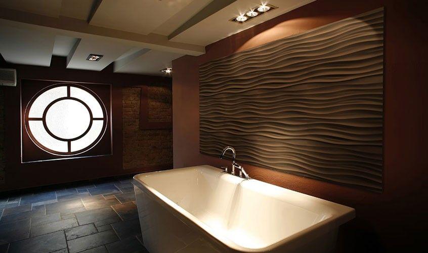 Panele 3D FALAX łazienka ściana - Producent LA DECOR