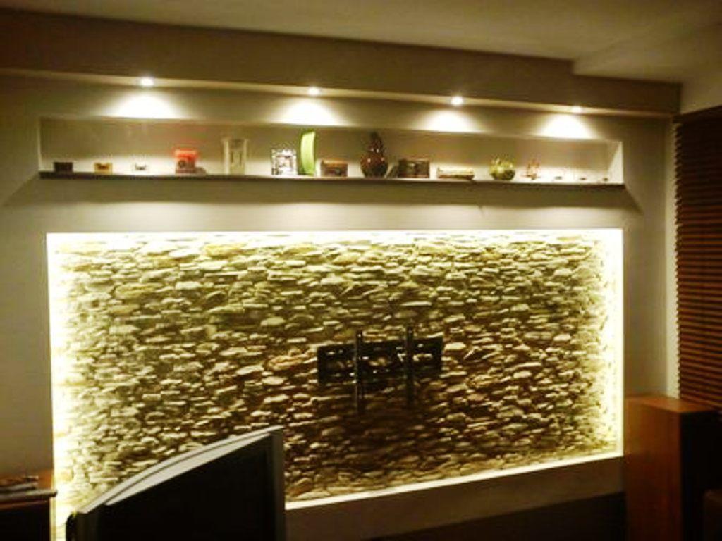Kamień Dekoracyjny na ścianie HELIOS oświetlenie LED - firmy LA DECOR