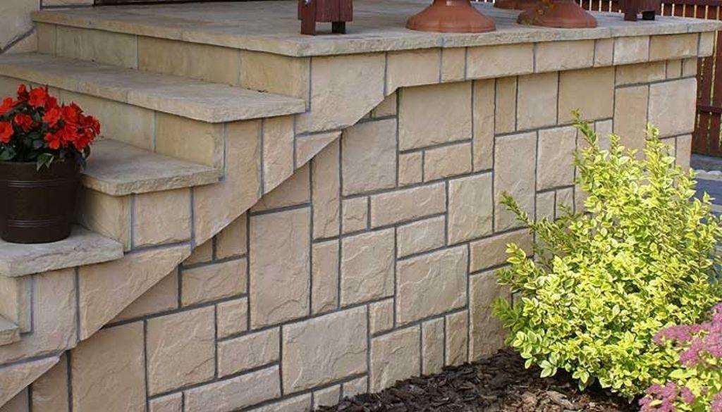 Kamień Zewnętrzny-Elewacyjny na schody - marki LA DECOR