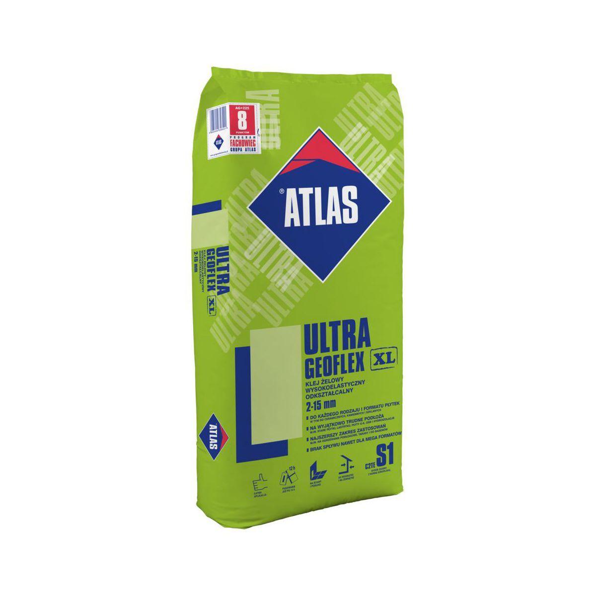 Klej Zewnętrzny żelowy Atlas Ultra Geoflex C2te S1 La