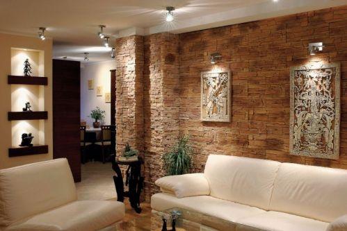 płytki dekoracyjnie na ścianę w salonie - producent LA DECOR