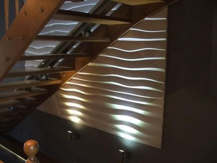 panel 3D fala schody - Producent LA DECOR