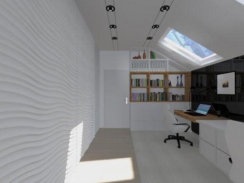 Panel 3d na ścianie w pokoju dziecięcym - firmy LADECOR